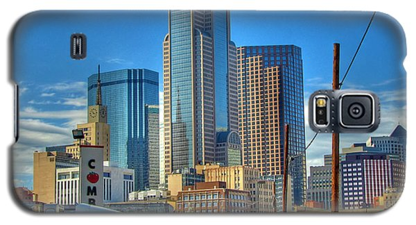 Galaxy S5 Case featuring the photograph Dallas Morning Skyline by Farol Tomson