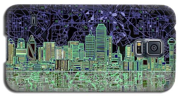 Dallas Skyline Abstract 4 Galaxy S5 Case