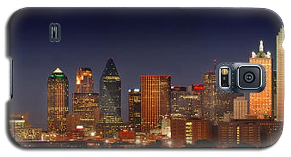 Dallas Skyline At Dusk  Galaxy S5 Case
