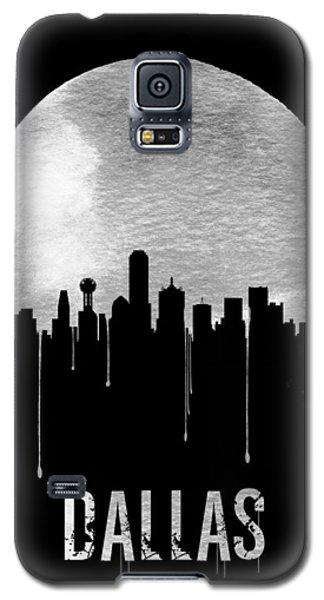 Dallas Skyline Black Galaxy S5 Case by Naxart Studio