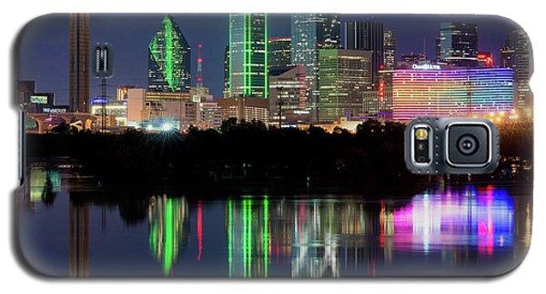 Dallas Skyline Reflection 91317 Galaxy S5 Case