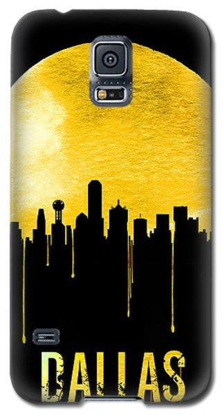 Dallas Skyline Yellow Galaxy S5 Case