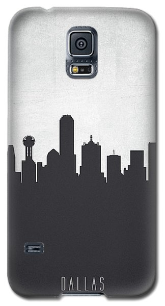 Dallas Texas Cityscape 19 Galaxy S5 Case by Aged Pixel