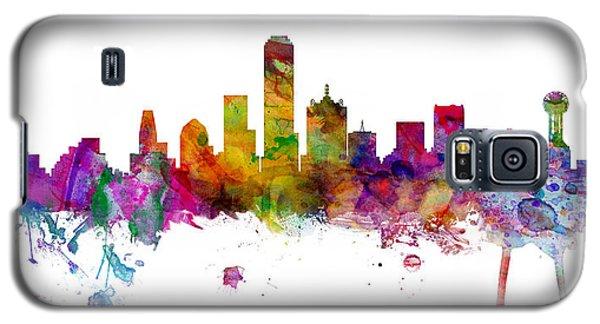 Dallas Texas Skyline Panoramic Galaxy S5 Case