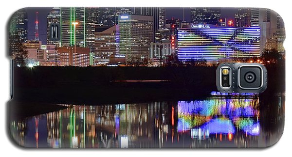 Galaxy S5 Case featuring the photograph Dallas Texas Squared by Frozen in Time Fine Art Photography