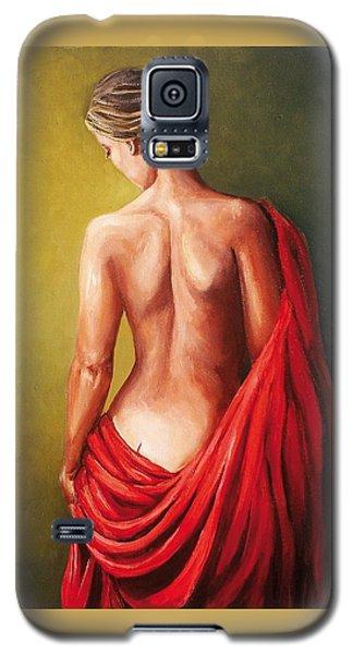 Dama De Rojo Galaxy S5 Case by Natalia Tejera