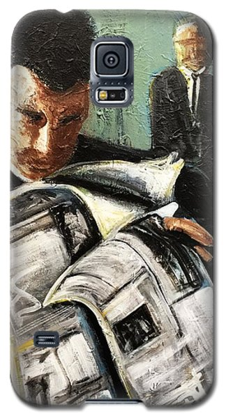 Damage Report Galaxy S5 Case by Helen Syron