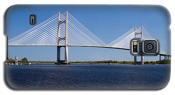 Dames Point Bridge Galaxy S5 Case by Farol Tomson