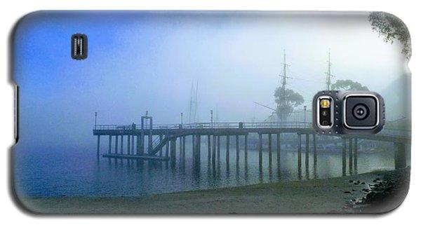 Dana Point Harbor When The Fog Rolls In Galaxy S5 Case