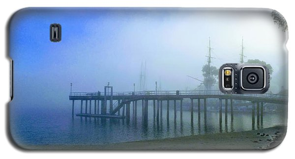 Dana Point Harbor When The Fog Rolls In Galaxy S5 Case