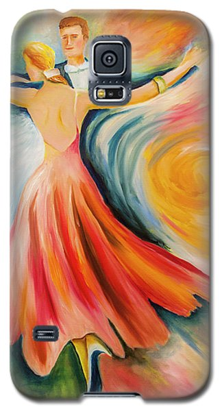 Dance Me To The End Of Time Galaxy S5 Case by Itzhak Richter