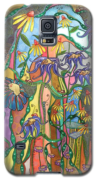 Galaxy S5 Case featuring the painting Dance Of Life by Tanielle Childers