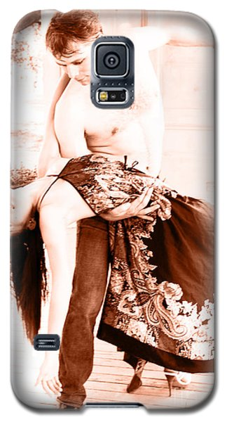 Galaxy S5 Case featuring the painting Dance Of... by Tbone Oliver