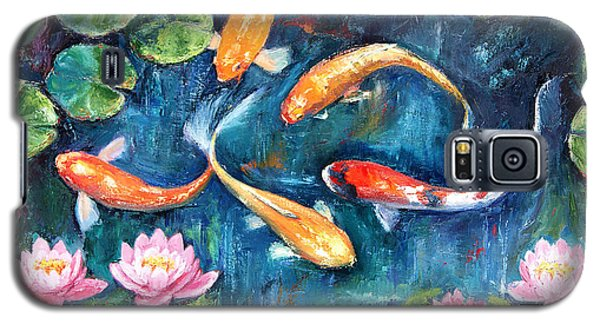 Dance Of The Koi Galaxy S5 Case