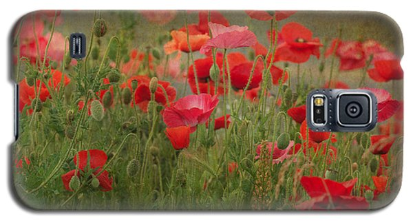 Dance Through The Poppies Galaxy S5 Case