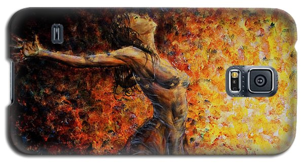 Dancer 03 Galaxy S5 Case by Nik Helbig