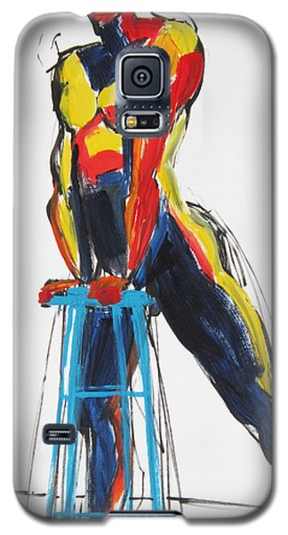 Dancer With Drafting Stool Galaxy S5 Case by Shungaboy X