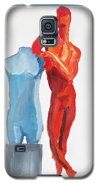 Dancer With Mannekin Galaxy S5 Case by Shungaboy X