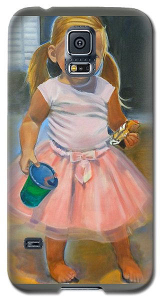 Dancer With Sippy Cup Galaxy S5 Case