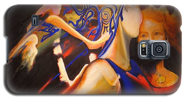 Galaxy S5 Case featuring the painting Dancers by Georg Douglas