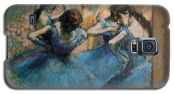 Dancers In Blue Galaxy S5 Case