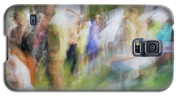 Dancing At The Music Festival Galaxy S5 Case