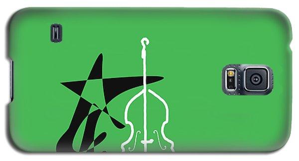 Dancing Bass In Green Galaxy S5 Case by David Bridburg