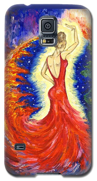 Dancing Between Two Worlds Galaxy S5 Case