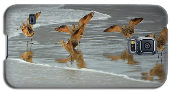 Dancing Birds Galaxy S5 Case by Jerry Cahill