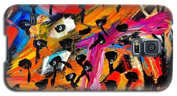 Dancing Car Keys Galaxy S5 Case