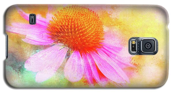 Dancing Coneflower Abstract Galaxy S5 Case