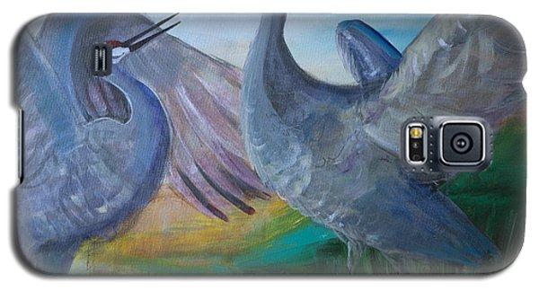 Dancing Cranes Galaxy S5 Case