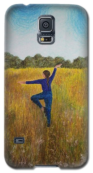 Dancing Field Galaxy S5 Case