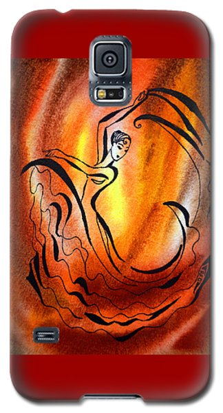Dancing Fire I Galaxy S5 Case