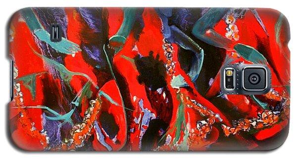 Dancing Flames Galaxy S5 Case by Georg Douglas