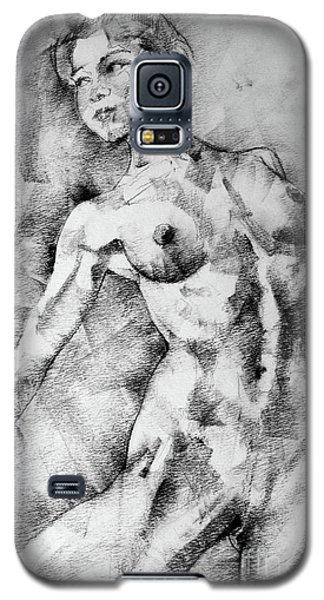Dancing Girl Drawing Galaxy S5 Case