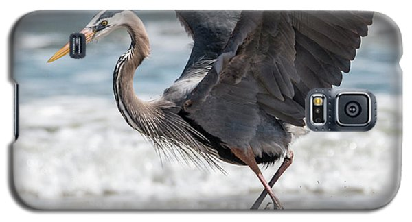 Dancing Heron #2/3 Galaxy S5 Case by Patti Deters