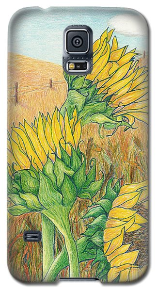Dancing In The Breeze  Galaxy S5 Case