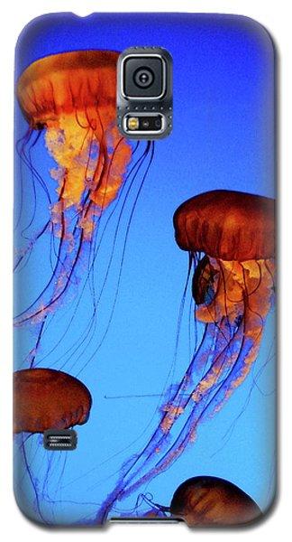 Dancing Jellyfish Galaxy S5 Case