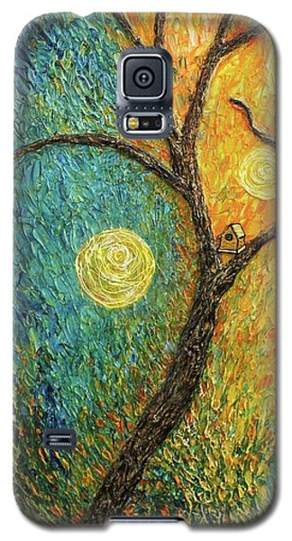 Dancing Leves Galaxy S5 Case by Jane Chesnut