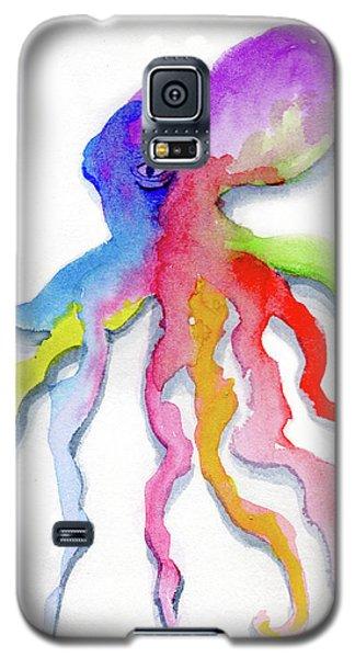 Dancing Octopus Galaxy S5 Case