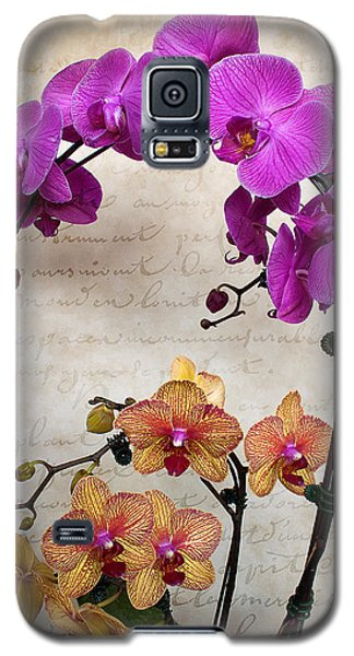 Dancing Orchids Galaxy S5 Case