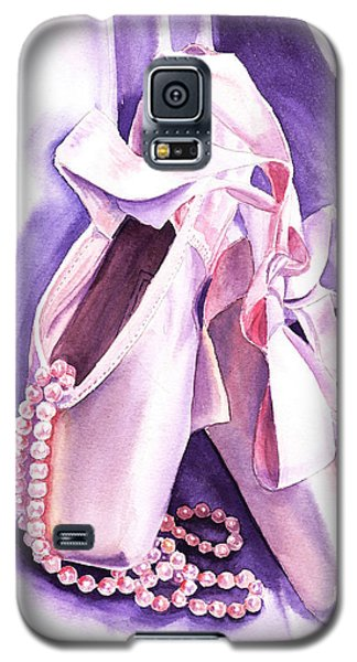 Dancing Pearls Ballet Slippers  Galaxy S5 Case