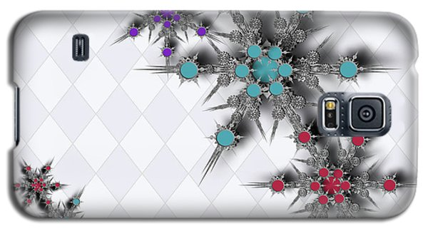 Dancing Snowflakes Galaxy S5 Case