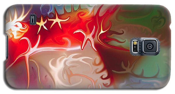 Dancing Stars Galaxy S5 Case