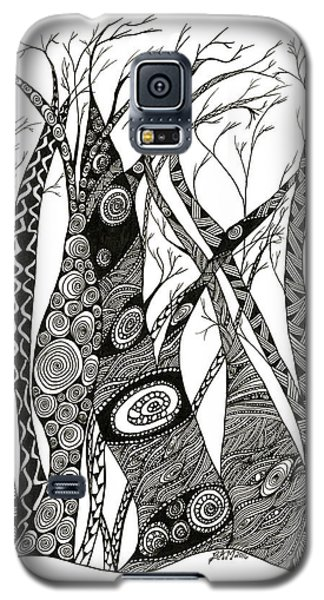 Dancing Trees Galaxy S5 Case