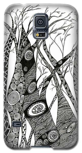 Dancing Trees Galaxy S5 Case
