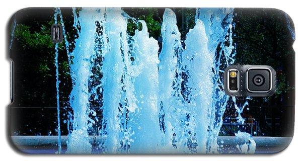 Dancing Waters Blue Galaxy S5 Case
