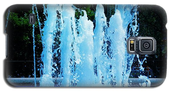 Dancing Waters Blue Galaxy S5 Case