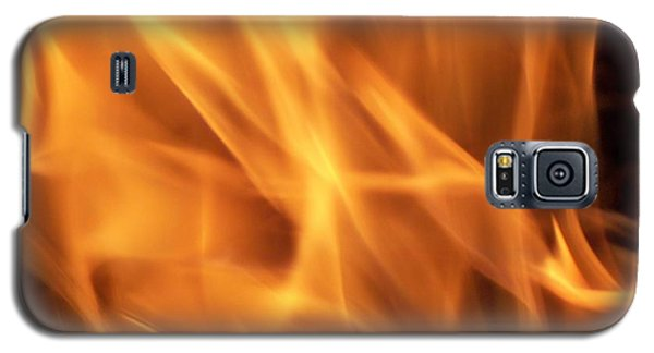 Galaxy S5 Case featuring the photograph Dancing With Fire by Betty Northcutt